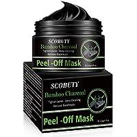 Peel Off Mask,Mascarilla Puntos Negros,Mascarillas Exfoliantes y Limpiadoras,Mascarilla Exfoliante Facial,Black Mask, Deep Cleansing Mascarilla