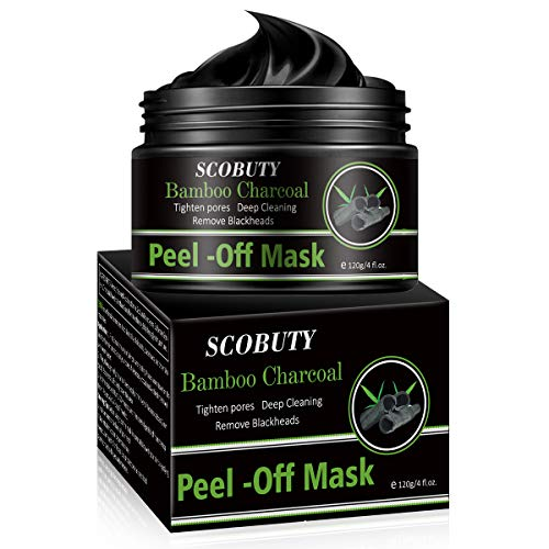 Peel Off Mask,Mascarilla Puntos Negros,Mascarillas Exfoliantes y Limpiadoras,Mascarilla Exfoliante Facial,Black Mask, Deep Cleansing Mascarilla