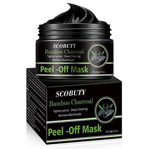 Masque Point Noirs,Masque Charbon Point Noir,Masque Peel Off,Black Mask,Peel Off Mask,Nettoyant en Profondeur Rétrécir Pores Points Noirs Acné 120 ml.