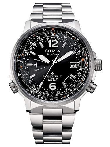 Citizen Eco-Drive CB0230-81E - Reloj controlado por radio para hombre, color negro