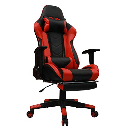 Marvelous Gaming Chair Red Amazon Com Creativecarmelina Interior Chair Design Creativecarmelinacom