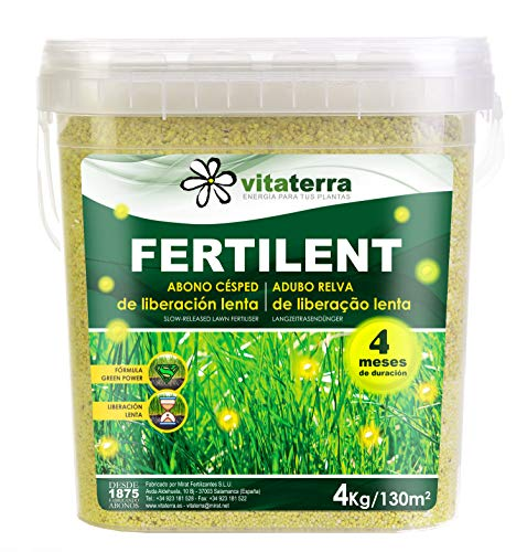 Vitaterra Césped Fertilent 4 kg, 33030
