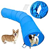 Cossy Home Collapsible Cat Tunnel Tube Kitty Tunnel Pet Toys Peek Hole for Cats, Puppy, Dogs, Kittens, Rabbits (3 Size) (79inch)