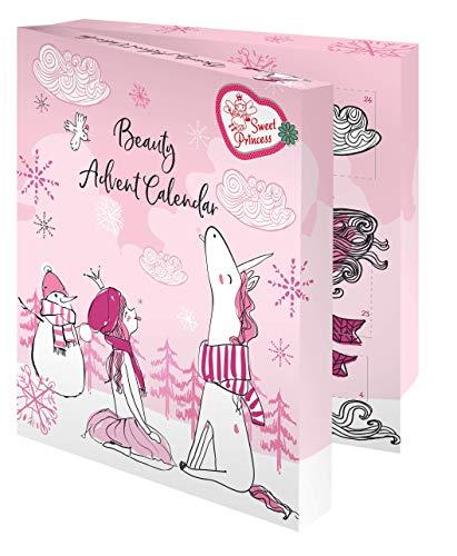 Sweet Princess Unicorn for Kids - Beauty-Advenstkalender inkl. Haaraccessoires für alle Einhorn-Fans, 314 g