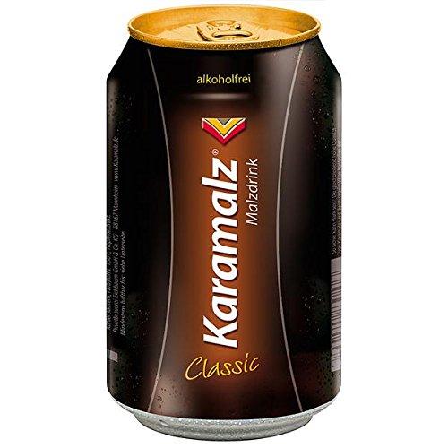 24 Dosen a 0,33L Orginal Karamalz Malzbier Alkoholfrei Kara Malz malztrunk inc.6.00€ EINWEG Pfand