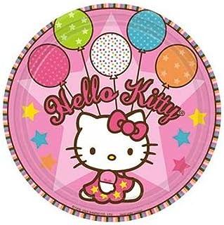 Hello Kitty Balloon Dream Large Paper Plates ...