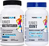 Runner Vitamin & Joint Support Bundle | Engineered Multivitamin for Runners | Antioxidants for Health & Recovery | Vitamin B Complex for Endurance, Energy, VO2 Max | Glucosamine, Chondroitin, MSM
