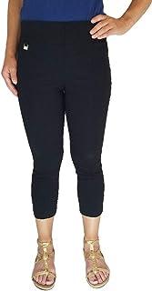 b3e20ce8346 Rafaella Womens Comfort Pull On Capri Pant