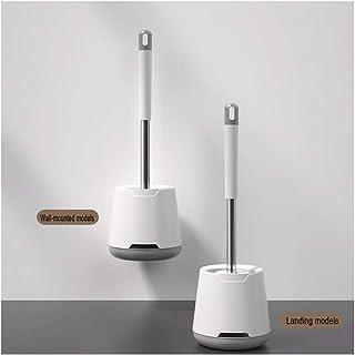 Brosse de toilette et support exquis TPR Brosse de toilette Brosse de ménage nettoyage Produit silicone tête Accessoires d...