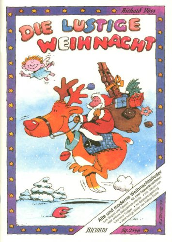 Die Lustige Weihnacht. Sopranblockflöte, Gitarre