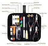 YSJJWDV alicates bisuteria Mini alicates de joyería Kit de fabricación de Joyas con Herramientas de joyería, líneas de joyería y Accesorios de joyería para la reparación y Abalorios de joyería