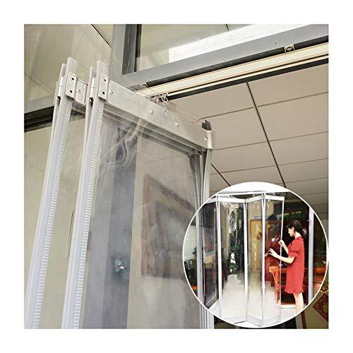 Invierno Cortina De Algodón Case GDMING Puerta De Pantalla Magnética, Impermeable Tarea Pesada Protección Contra El Frío Hoja Insonorizada, Retráctil Puertas Corredizas Con Pista Por Sala Portales, Pe