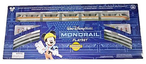 Walt Disney World Resort Monorail Play Set for Kids - Assorted Colors