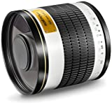 Walimex Pro 500mm 1:6,3 CSC Spiegel Teleobjektiv (Filtergewinde 34mm) für Samsung NX Objektivbajonett weiß