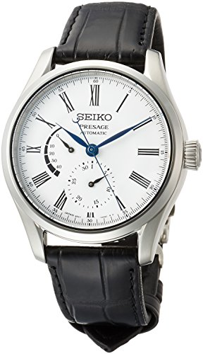 [セイコーウォッチ] 腕時計 プレザージュ 琺瑯ダイヤル メカニカル デュアルカーブサファイアガラス SARW035 メンズ ブラック