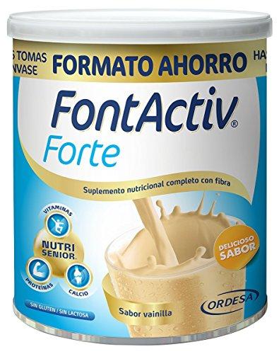Fontactiv Forte Vainilla - 800 gr - Suplemento Nutricional para Adultos y Mayores - 30 grs 1 o 2 veces al día