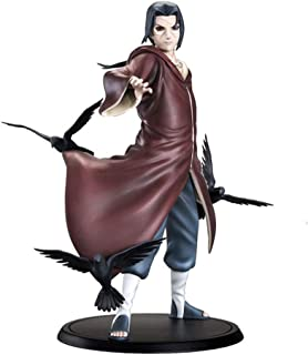 EASTVAPS Naruto Figurine Uchiha Itachi Brinquedos Anime Action PVC Figurine Collection Modèle Jouet 17cm