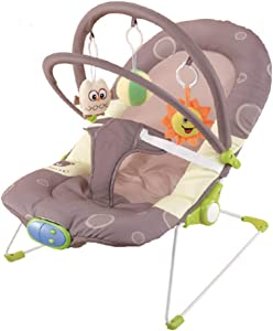 Multifunction Baby Rocker  Comforable 48cm Baby Bouncer Chair Ideal For Home Use  Suit For Infant Within Months
