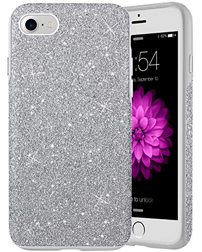 """Caka Case for iPhone SE 2020 iPhone 8 iPhone 7 Crossbody with Strap Daisy iPhone 7 8 Case with Lanyard Floral Clear Flowers Pattern for Girls Women Girly Slim Case for iPhone SE 2020 7 8 4.7"""""""