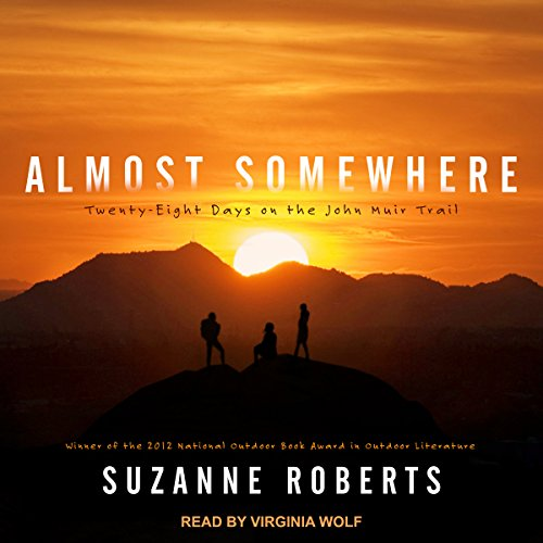 Almost Somewhere audiobook cover art