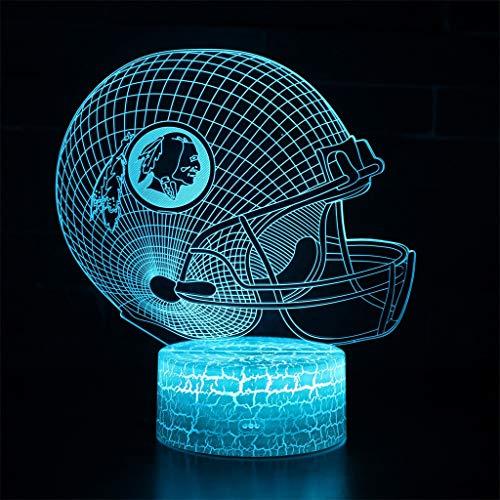 Veilleuse 3D simple lumière/LED, lumière de sculpture d'art tactile 7 couleurs, panneau acrylique, base en ABS, câble USB