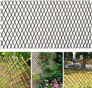 A2Z Home Solutions Outdoor Expanding Willow Trellis - Ideal for climbing plants, flowers and vegetables (120 x 180 cm) 1.2m x 1.8m