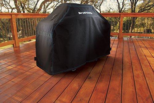 517tSYPRbSL. SL500  - Broil King Abdeckhaube Premium für Crown/Baron 440, 490, Signet 20, 90. Grill-/Grillzubehör, Edelstahl, 5 x 5 x 5 cm