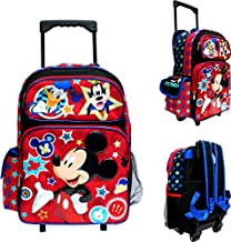 Disney Mickey Mouse Large Rolling Backpack 16