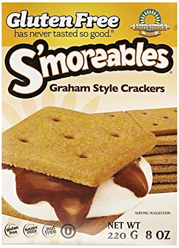 Kinnikinnick S'moreables Graham Crackers, 8 oz