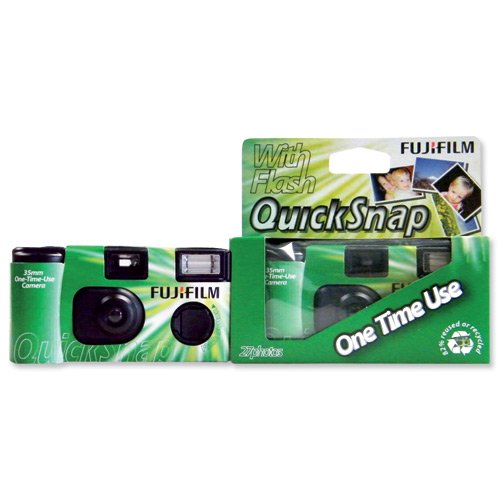 3–cámaras de Fotos Desechables (con Flash)
