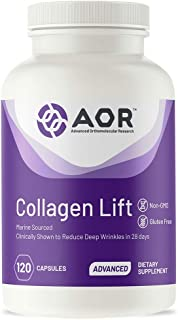 AOR, Collagen Lift, Supports Healthy Aging, Energy and Longevity, Dietary Supplement, 120 Servings (120 Capsules)