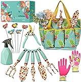 Kit4Pros Floral Garden Tool Set| Gardening Gifts for...