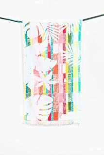 150x95x0.5 cm Multicolore Cotone Desigual 17WHWT23 Confezione di Asciugamani Diversi