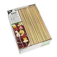 Papstar spiedini, Bamboo, Marrone, 1 - Confezione
