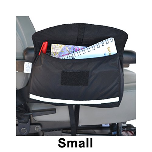 Monster Motion Saddle Bag for Mobility Scooters, Power Chairs, & Wheelchairs