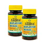 Nature Essential Isoflavonas de soja 620 mg - 50 perlas, Pack 2 unidades