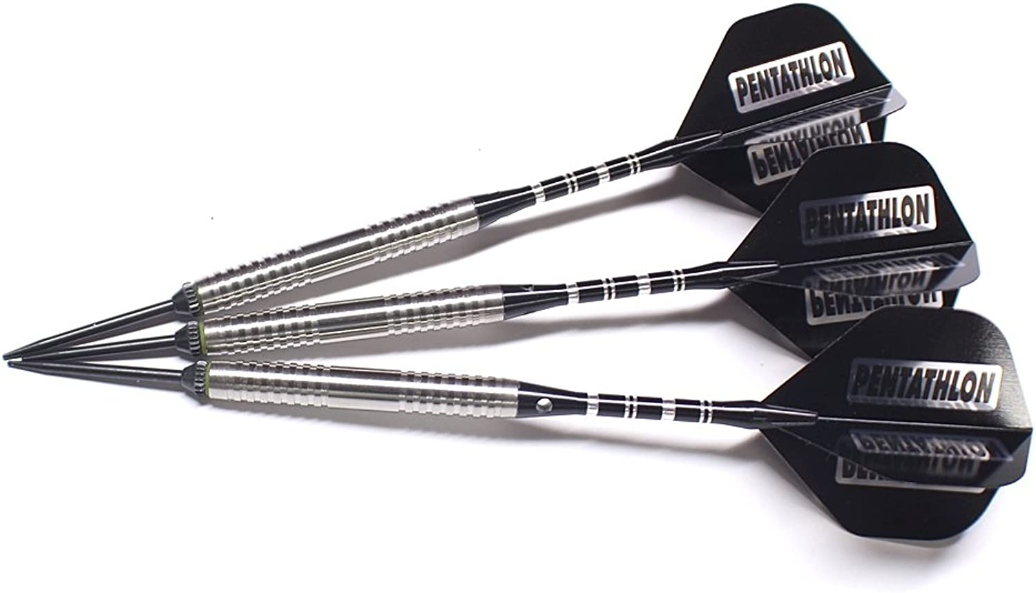 US DartsViper Rd Silverline 21 Grams Style 2, 80% Tungsten Darts, No-Bounce, Moveable Point Darts, Fitted with Balancepoint ACE Points