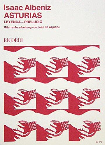 Asturias (Suite Espanola) Op 47/5. Gitarre