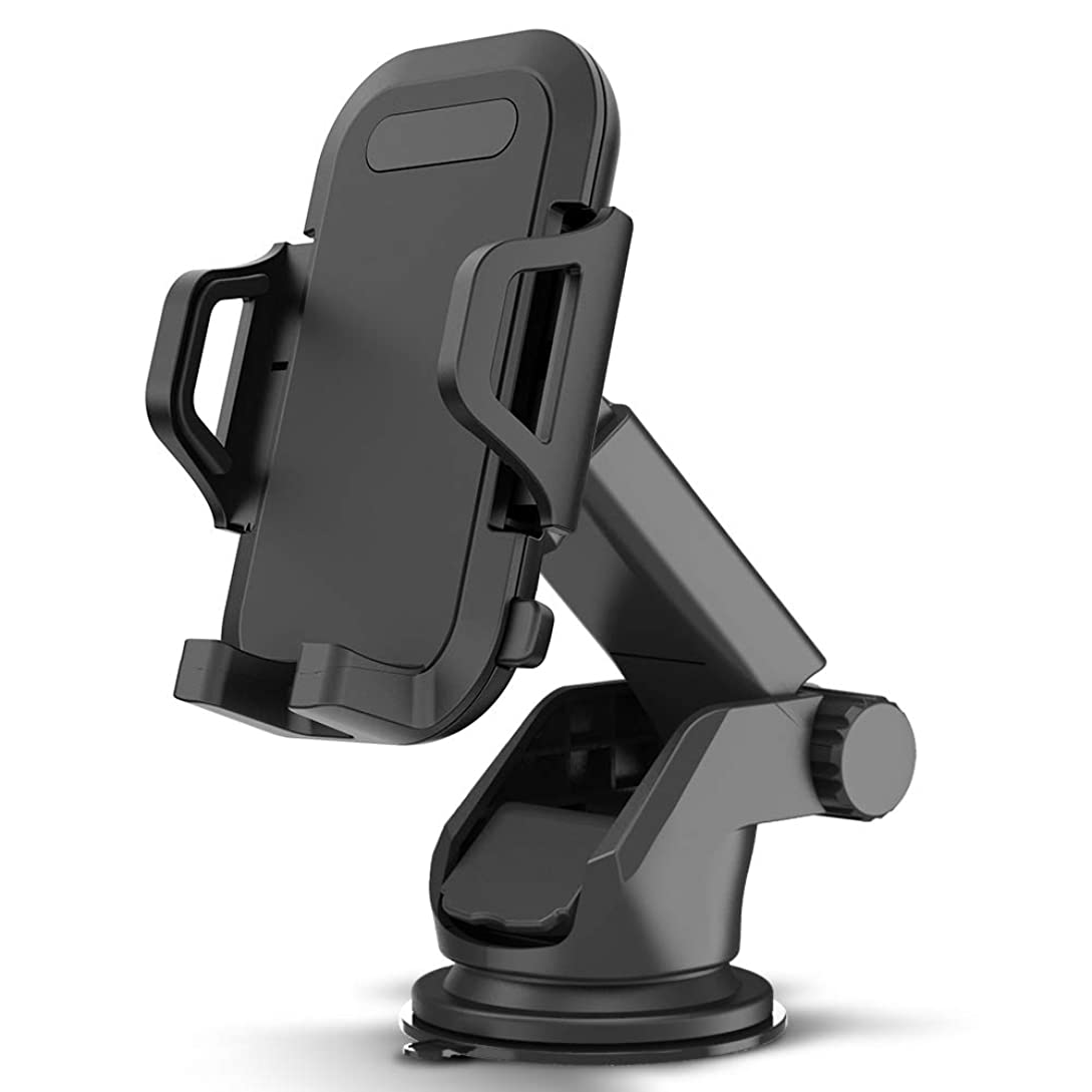 Maxboost DuraHold Series Car Phone Mount for iPhone Xs Max XR X 8 7 6s Plus SE,Galaxy S10 5G S10+ S10e S9 S8 Edge,Note 9,LG G8,Pixel,HTC[Washable Strong Sticky Gel Pad/Extendable Holder Arm (Upgrade)] sp9225685