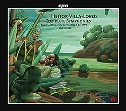 Villa-Lobos : Intégrale des Symphonies. St. Clair