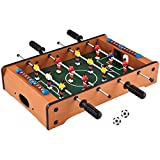 Toyshine Mid-Sized Foosball, Mini Football, Table Soccer Game (50 Cms) - Lets Have