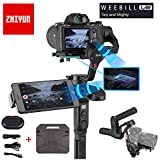 Zhiyun WEEBILL Lab 3-Axis Handheld Gimbal Stabilizer for Almost All Mirrorless Cameras,Smartphone,MAX Support 3KG (Standard Package)