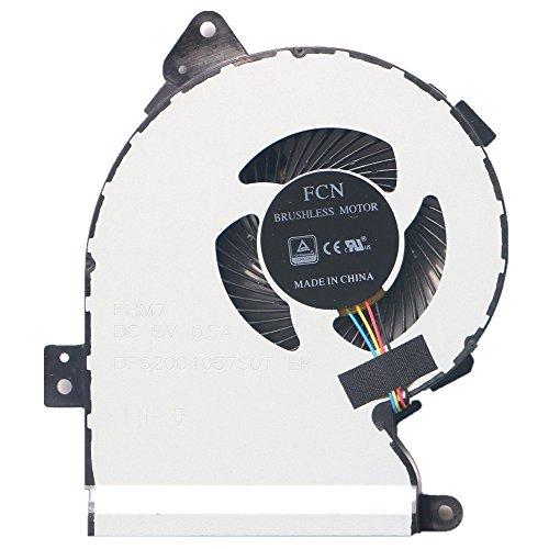 Ventilador de refrigeración para ordenador portátil Asus X540, X540LJ X540LA X540Lj X540YA FL5700U FL5700UP X540SC K540LJ R540L VM520U C520U