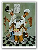 Bruce Teleky Links, Tips, Wings and Fries by Annie Lee 22.5'x17' Art Print Poster