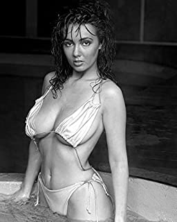 Risnay Kathy Lloyd Model Stunning Bikini Sexy Wet Hair in Hot Tub 16x20 Canvas Giclee