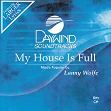 My House Is Full Accompaniment/Performance Track