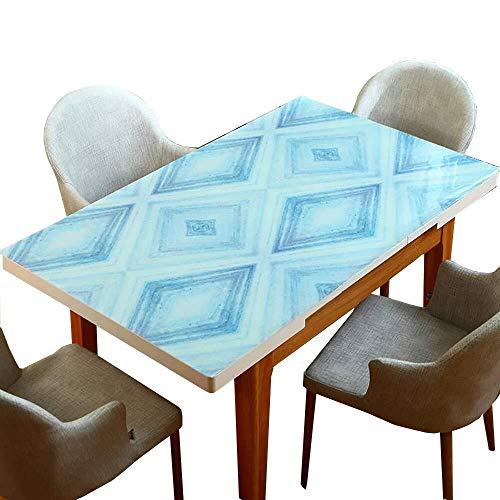 ZH~K Weihnachten Tischdecke PVC-Tischdecke, Tischmatte leicht Kaffeefleck Reinigung Kitchen Party Hochzeit Kein Geruch (Size : 80×130cm)