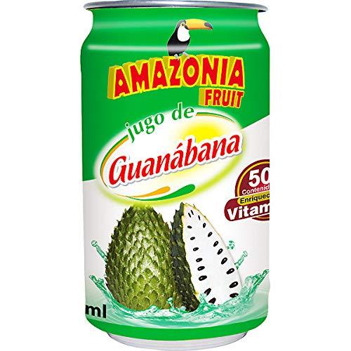 Jugo de Guanabana (Sauersacksaft)- Amazonia Fruit (6x330ml) (6)