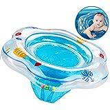 XMDDX Aufblasbare Baby Schwimmring, Schwimmring Pool Schwimmen Float mit Schwimmsitz für Kinder Planschbecken, Baby Schwimmring Schwimmhilfe mit PVC für Baby von 6 bis 36 Monate