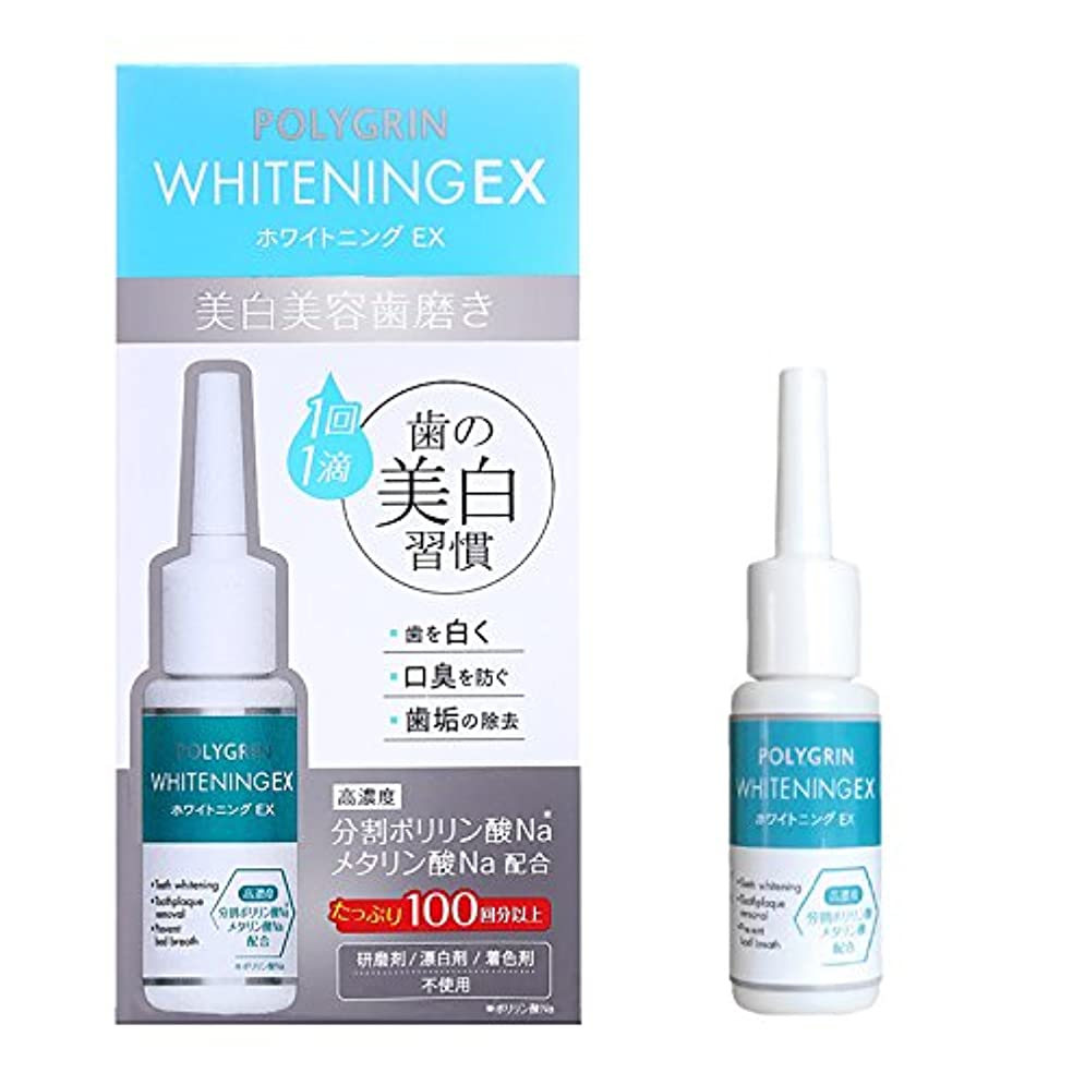 粘性の好戦的な時間ポリグリン(POLYGRIN) ホワイトニングEX 10ml